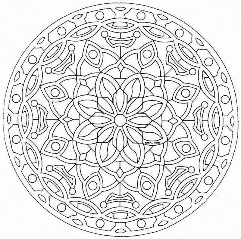Mandala Free Coloring Pages Printable