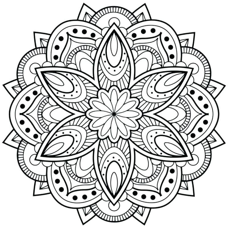 Mandalas Coloring Pages Printable