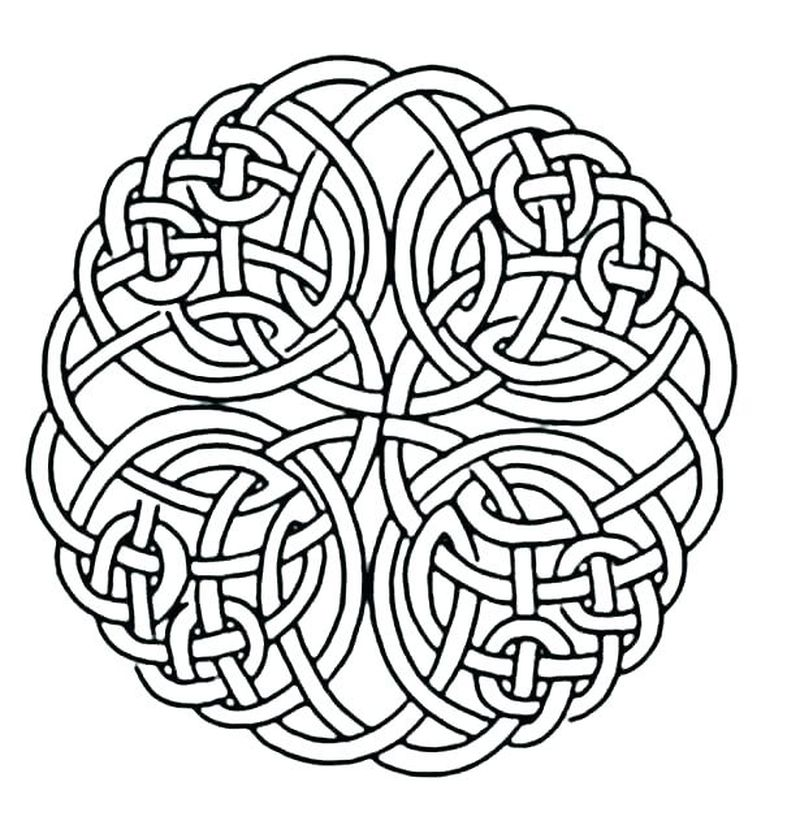 Mandalas Coloring Sheets Printable