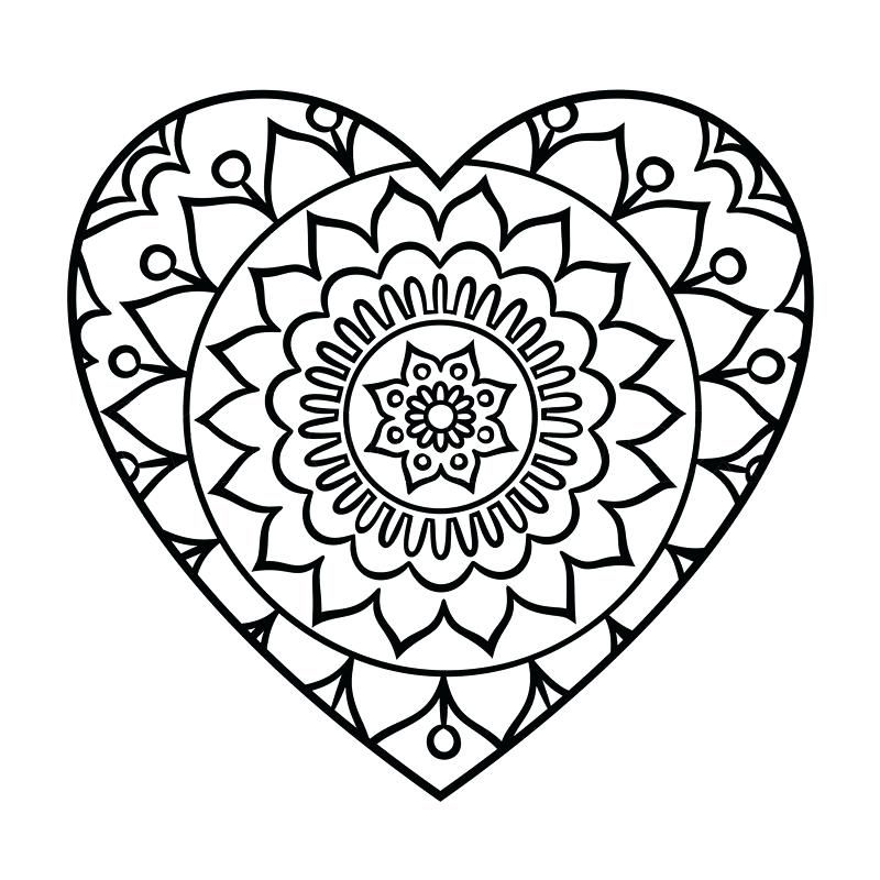 Mandalas Print Out Printable