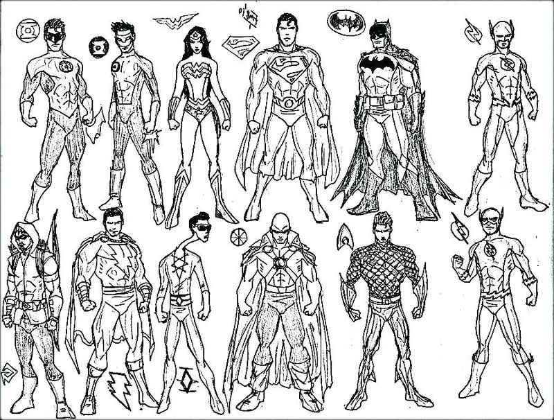 Marvel Comic Coloring Pages