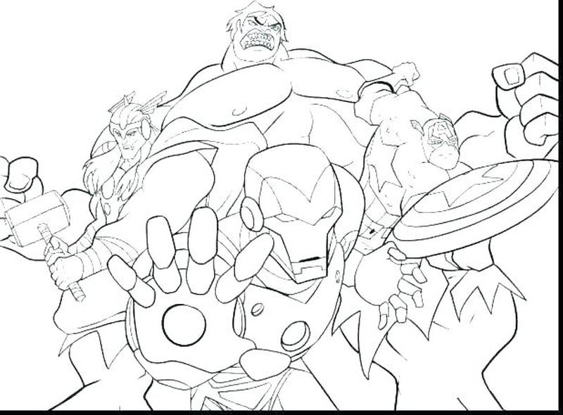 Marvel Vs Dc Coloring Pages