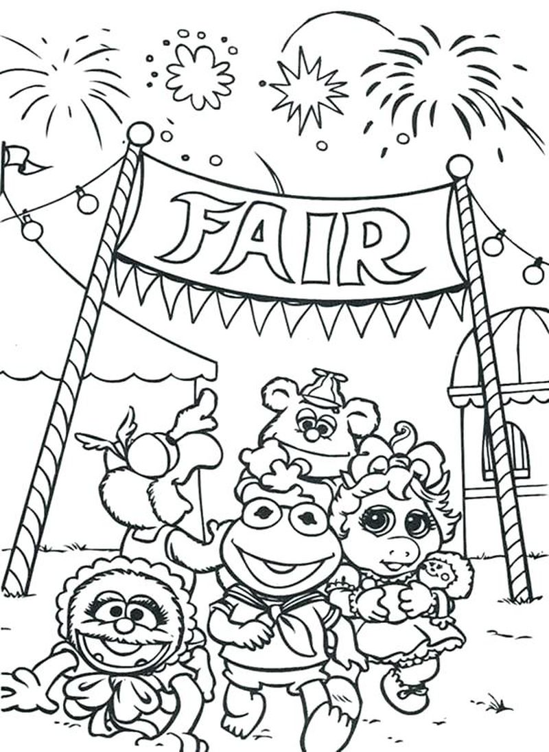 Miss Piggy Coloring Pages Printable