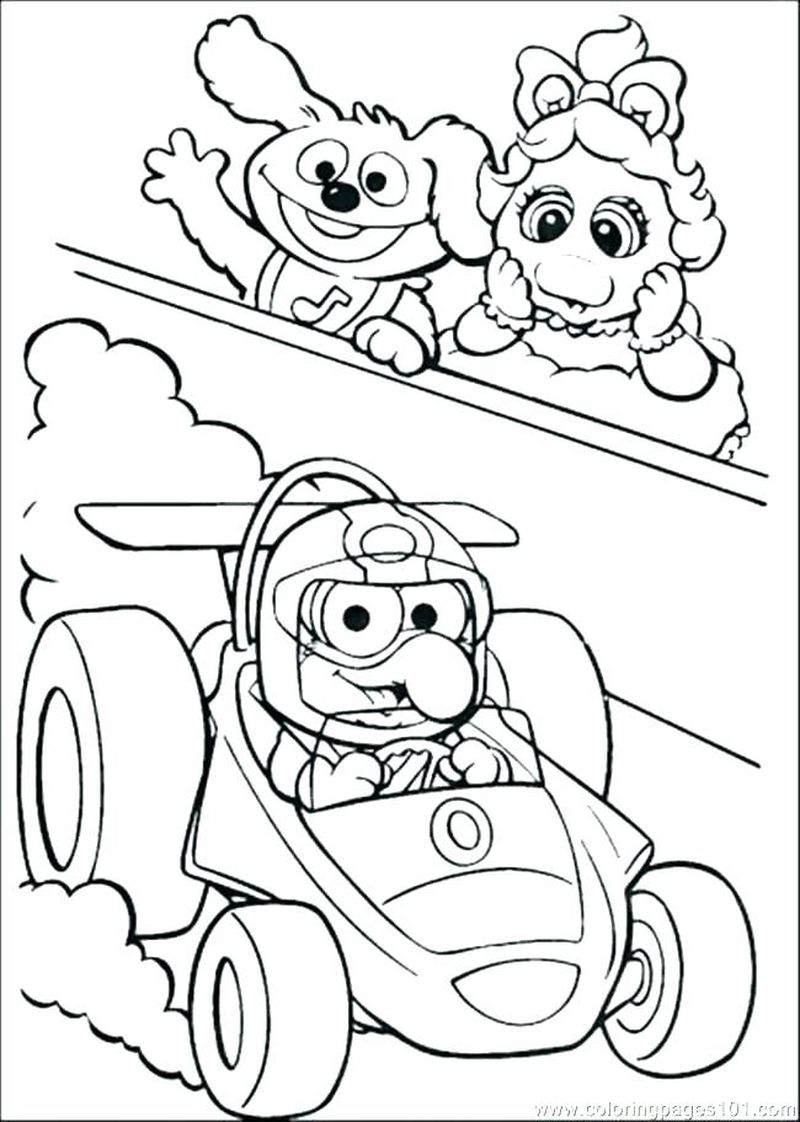 Muppet Babies Picture Printable