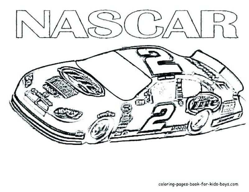 Nascar 29 Coloring Pages Printable