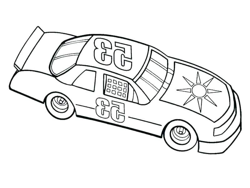 Nascar Coloring Pages 2011 Printable