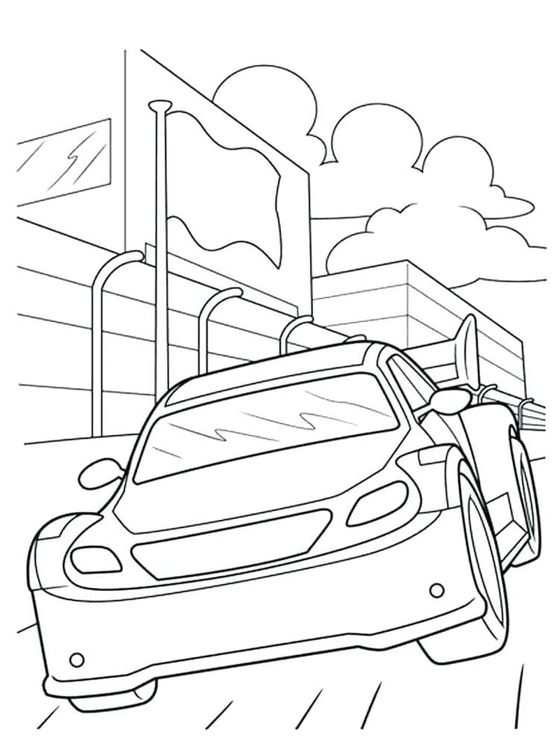 Nascar Coloring Pages 2012 Printable