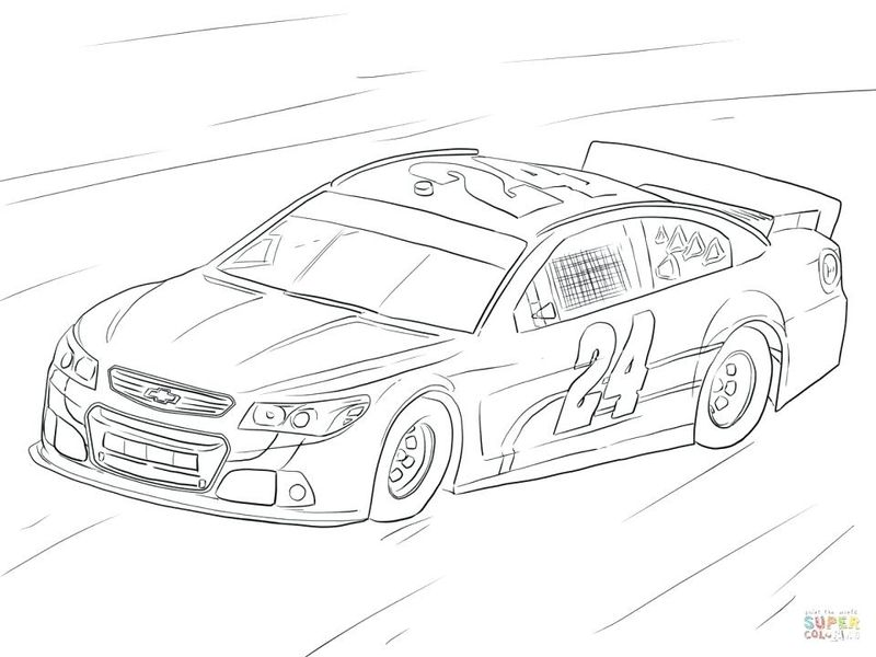 Nascar Coloring Pages Dae Jr Printable