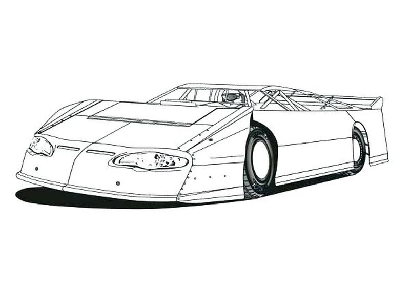 Nascar Coloring Pages Godaddy Printable
