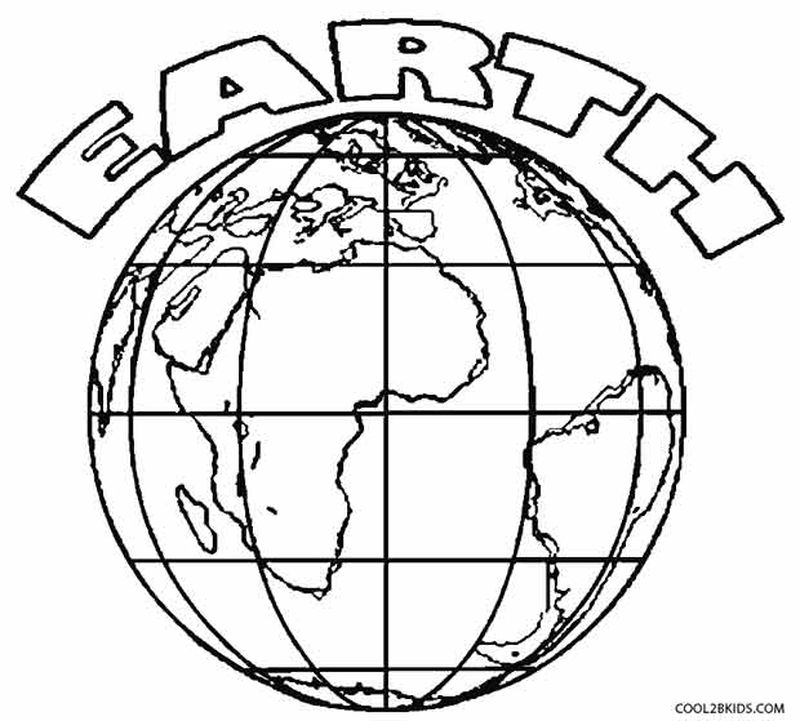 PRINTABLE coloring pages earth day themedPrintable