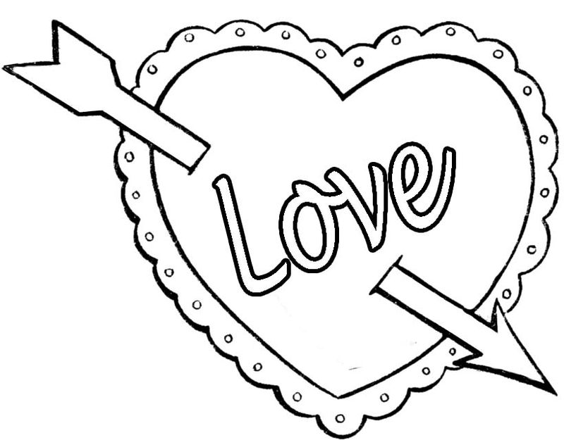 PRINTABLE valentines day coloring pages Printable
