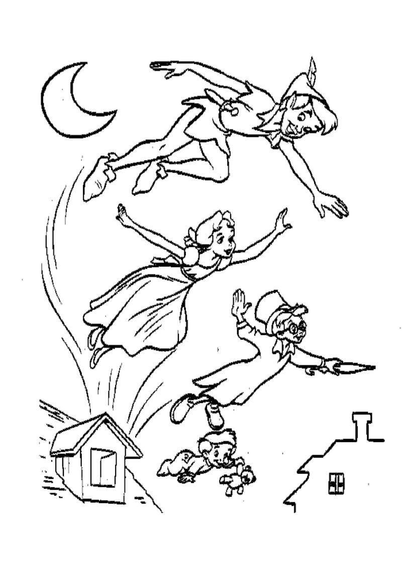 Peter Pan Coloring Books Pdf