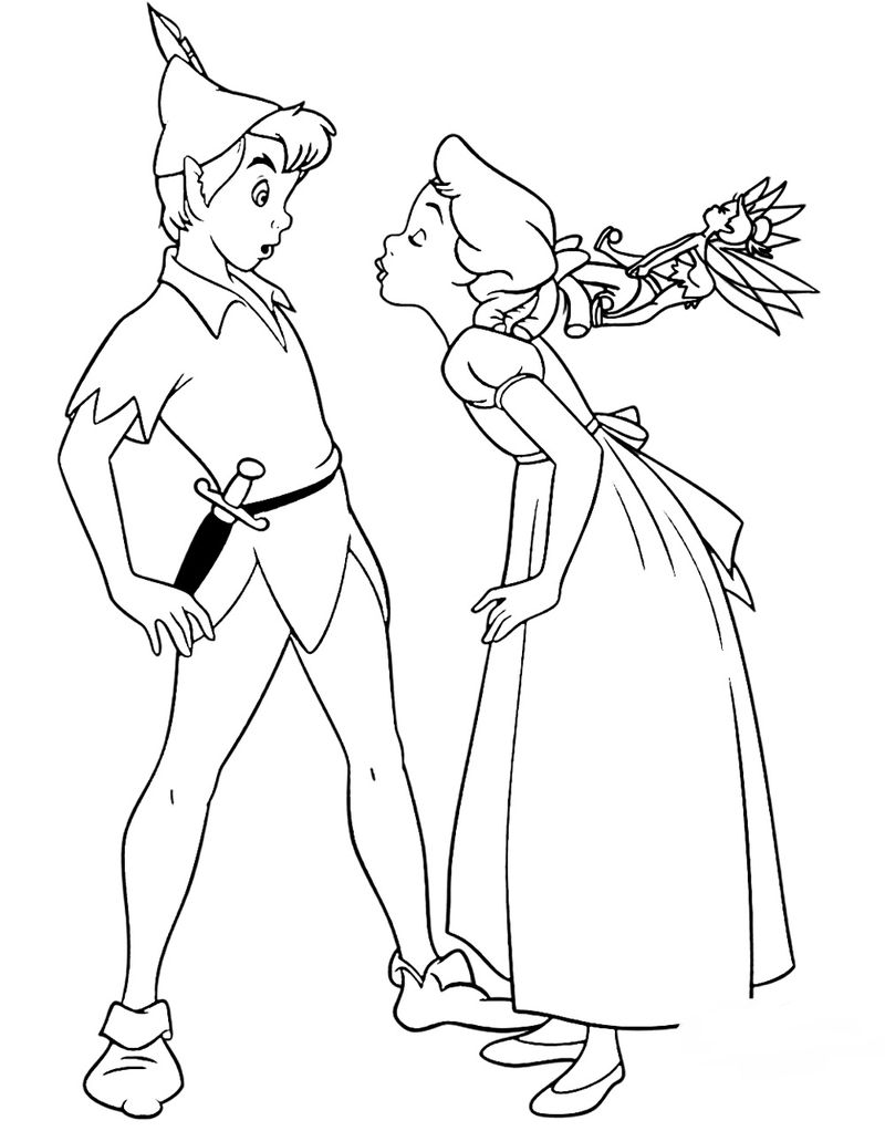 PeterPan Coloring Pages Image