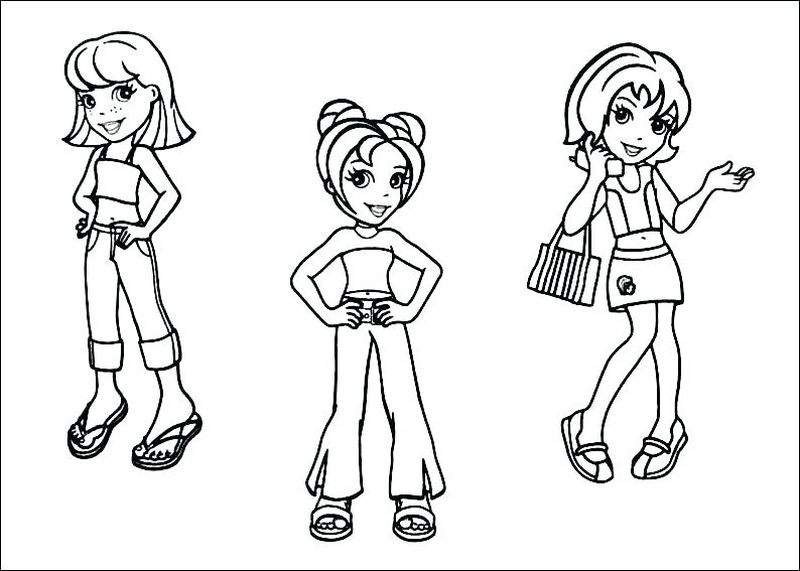 Pocket Watch Coloring Page Printable