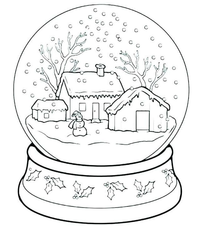 Princess Holiday Coloring Pages Free