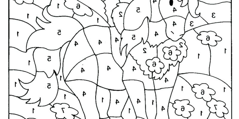 Printable Color By Number Coloring Pages Christmas