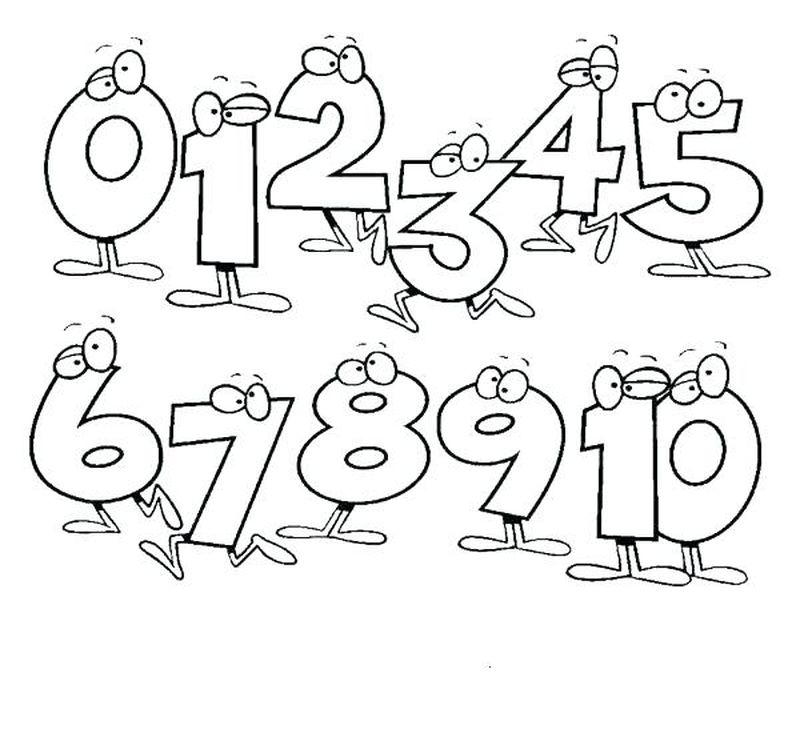 Printable Color By Number Coloring Pages For Adult
