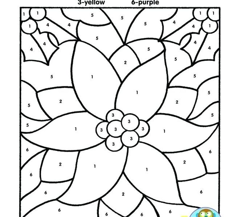 Printable Coloring Pages Bird Color By Number