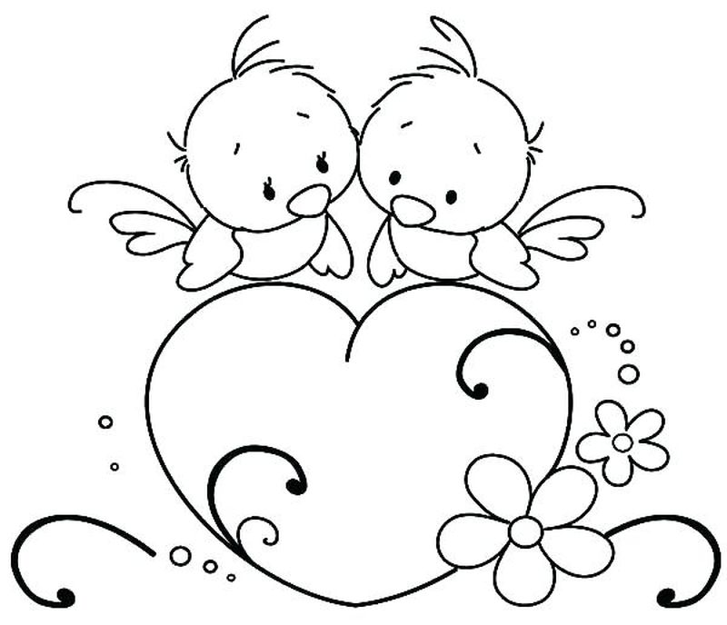 Printable Coloring Pages For Love