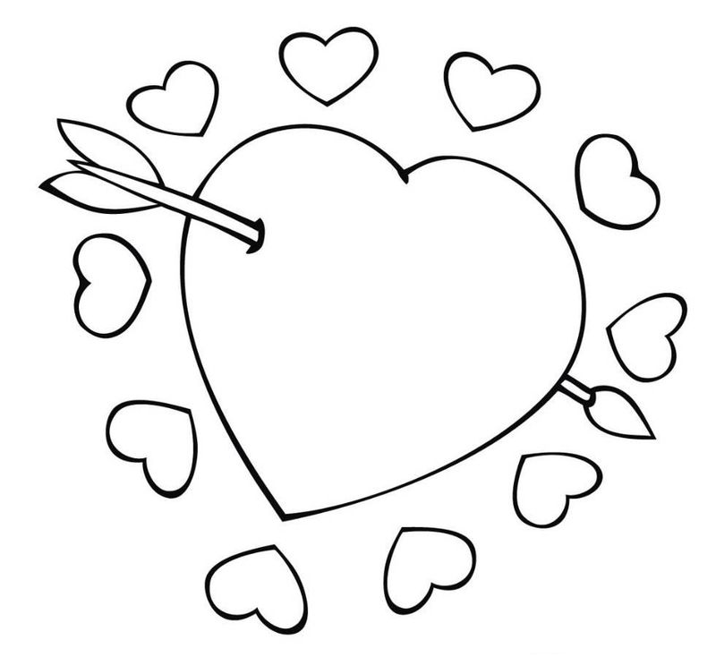 Printable Coloring Pages Of I Love You