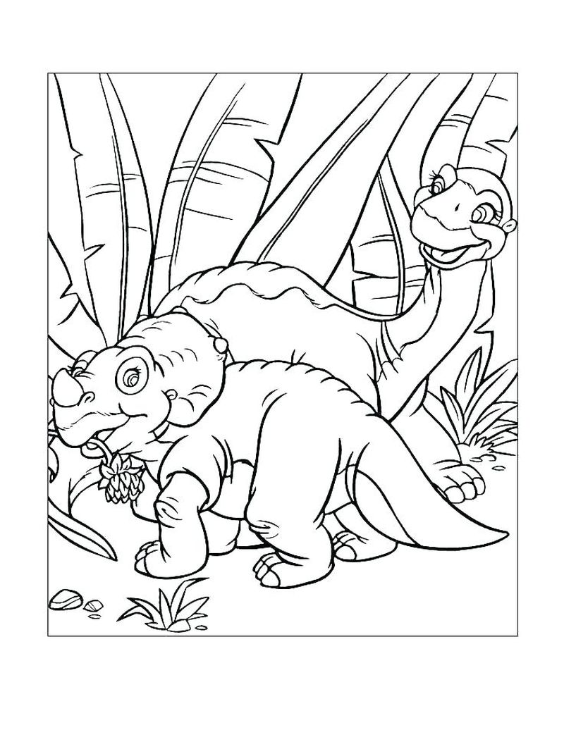 Printable Duckie Coloring Pages