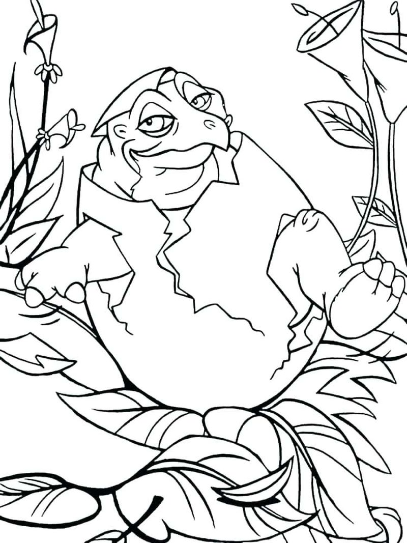 Printable Ducky Coloring Pages