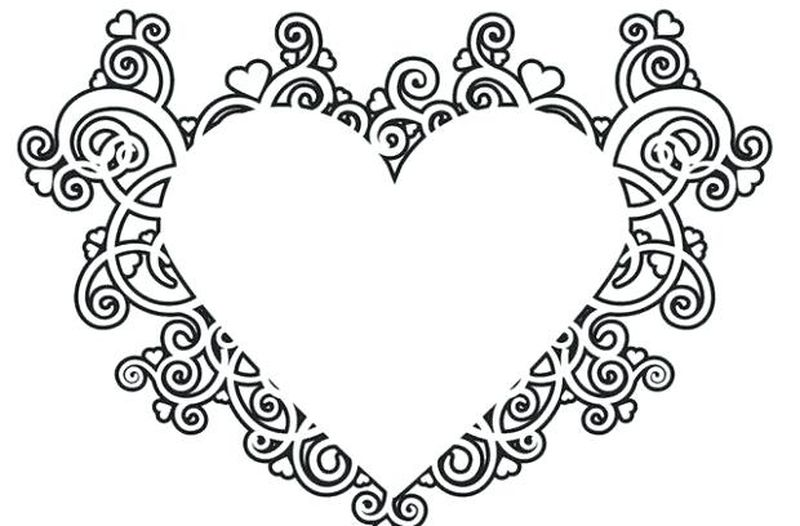 Printable Free Coloring Pages For Adults Love