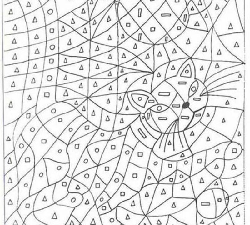 Printable Free Printable Coloring Pages Color By Number