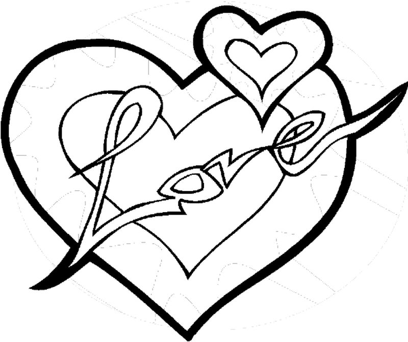 Printable I Love My Boyfriend Coloring Pages