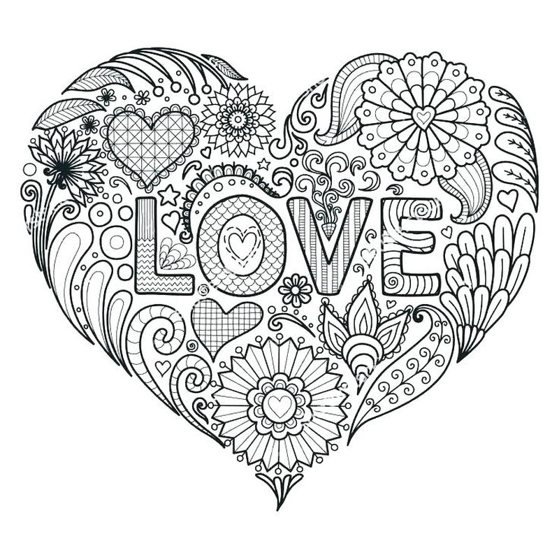 Printable I Love My Mom Coloring Pages