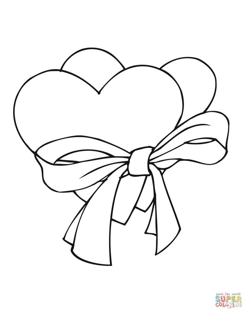 Printable I Love Summer Coloring Pages