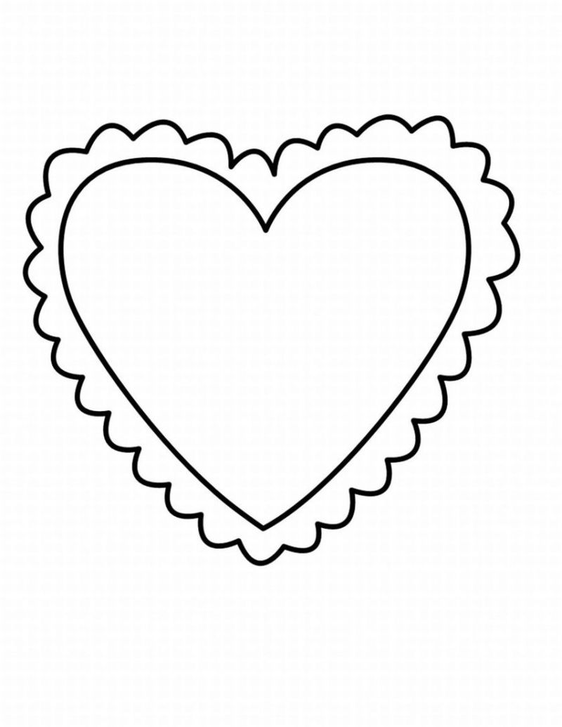Printable I Love Usa Coloring Pages