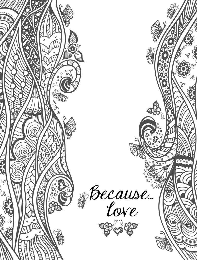 Printable I Love You Coloring Pages