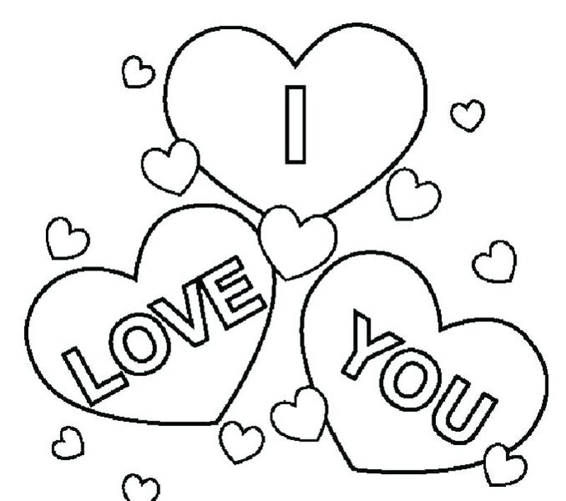 Printable I Love You This Much Coloring Pages
