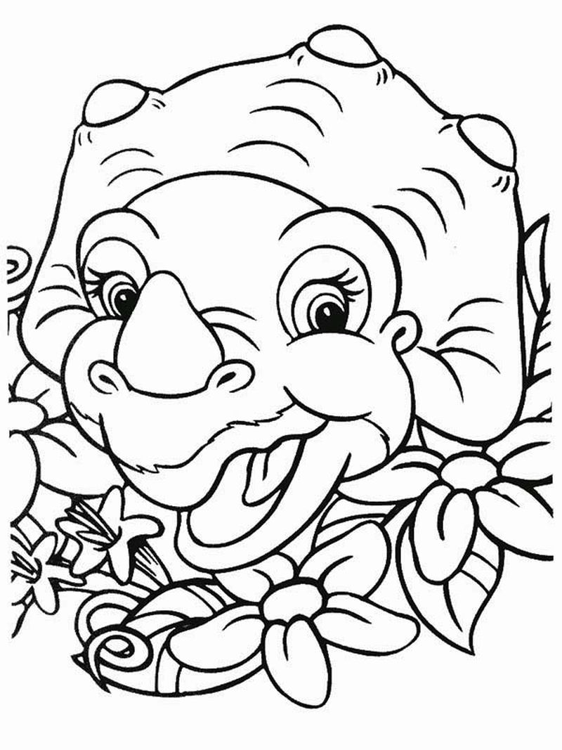 Printable Land Before Time Coloring Pages