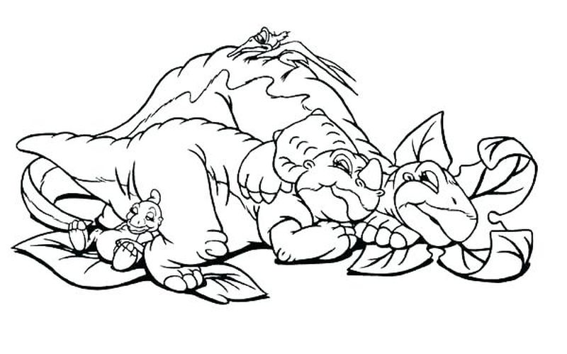 Printable Land Before Time Drawing