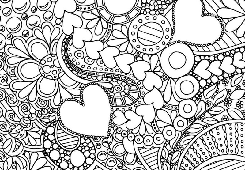 Printable Love Coloring Pages Printable