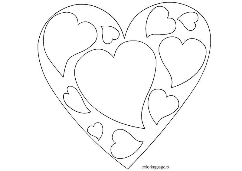 Printable Love Sign Coloring Pages