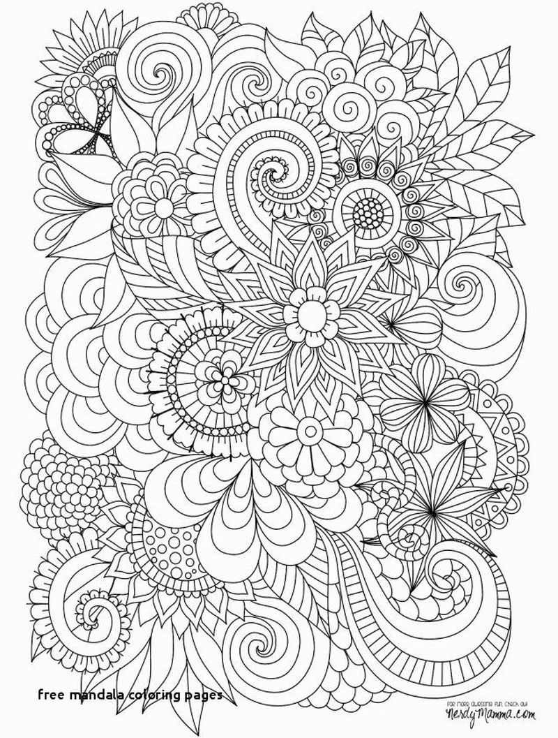 Printable Mandala Coloring Book