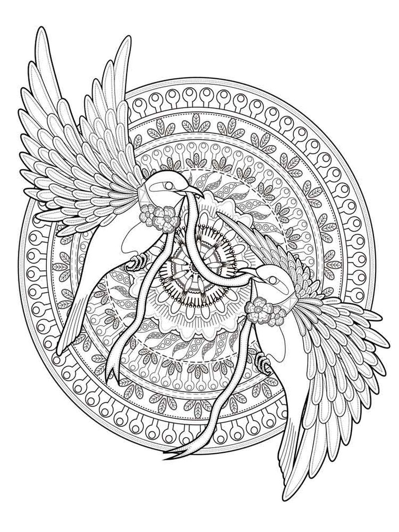 Printable Mandala Coloring Books Free