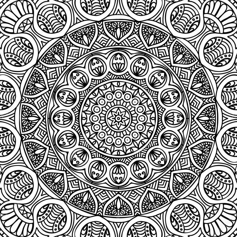 Printable Mandala Coloring Pages For Children