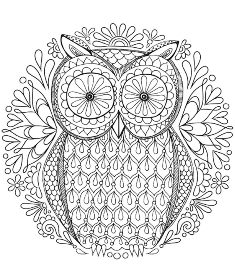 Printable Mandala Coloring Pages For Teens