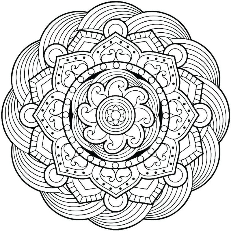 Printable Mandala Pictures To Color