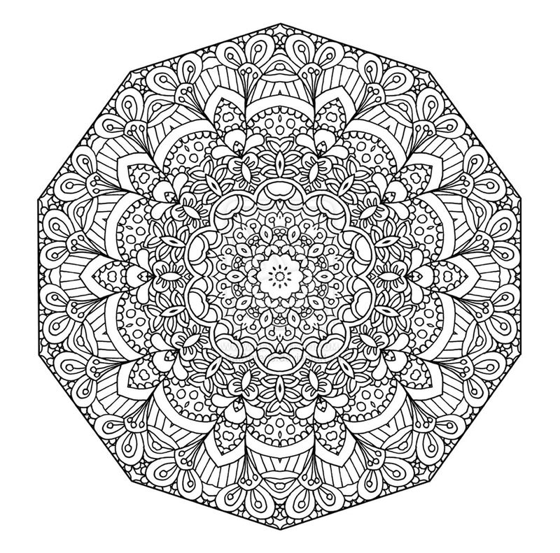 Printable Mandella Coloring Pages