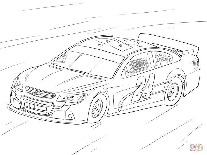 Printable Nascar Coloring Pages Kyle Busch