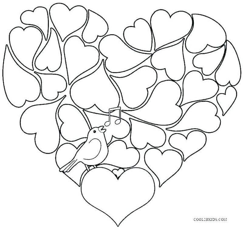 Printable Peace Love Happiness Coloring Pages