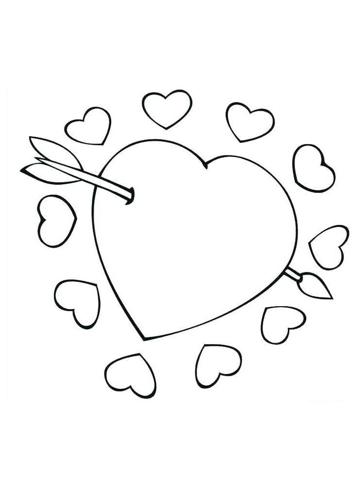 Printable cupid coloring pages free online