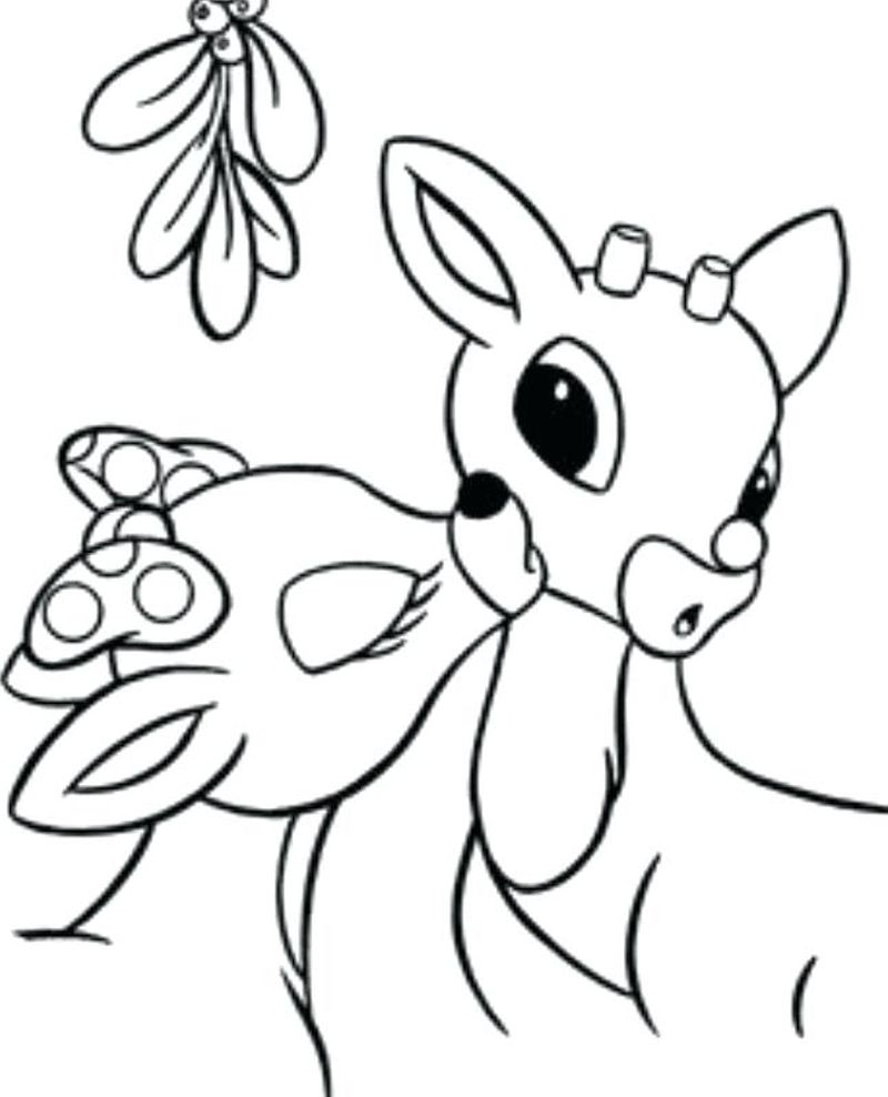 Santa From Rudolph The Red Nosed Reindeer Coloring Pages