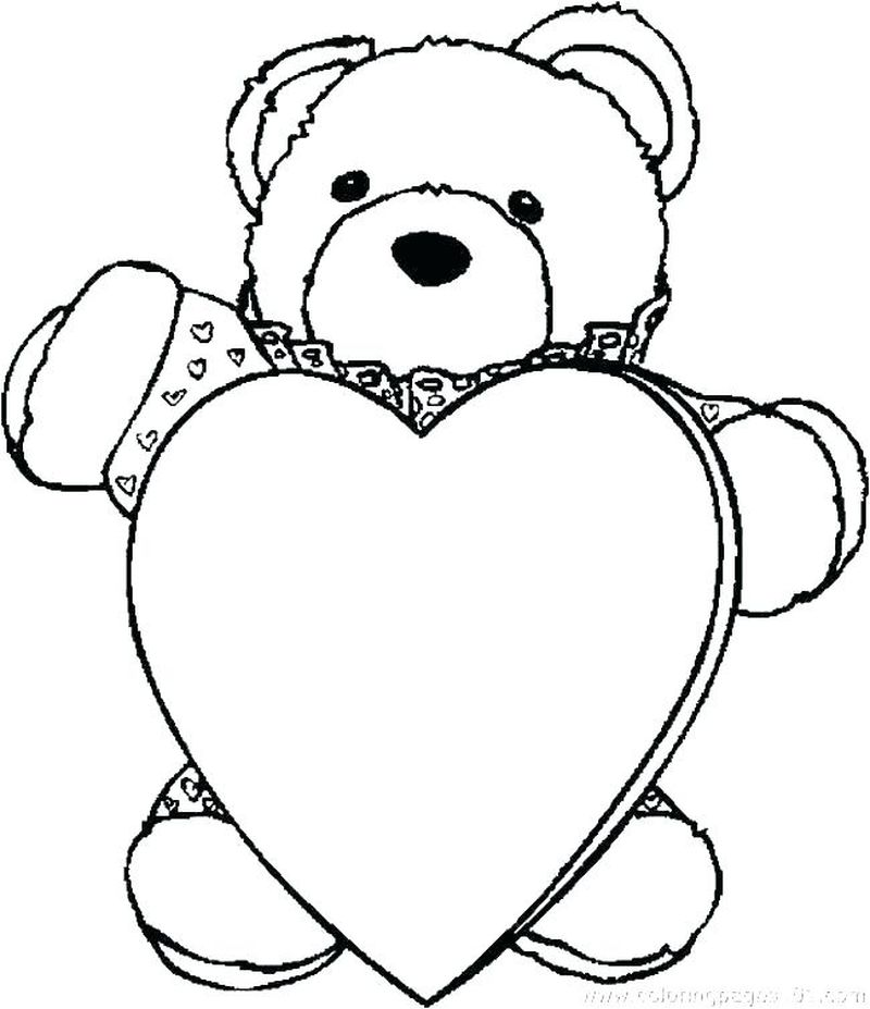 Share The Love Coloring Page Printable s