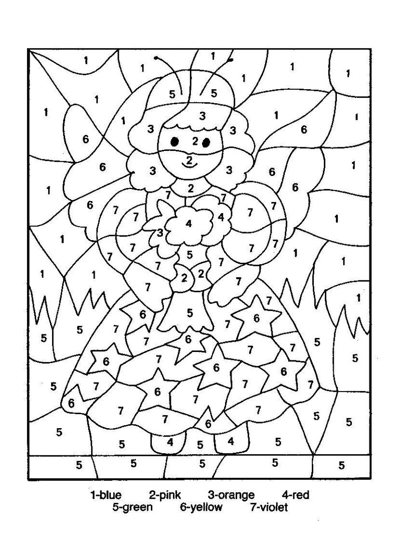 Thanksgiving Color By Number Coloring Pages